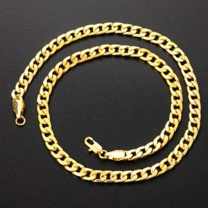 """14k Gold Plated High-Quality Stainless Steel 24"""""""